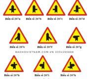 Biển cảnh báo giao nhau với đường không ưu tiên