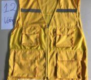 Áo phản quan ghile màu vàng