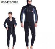 Quần áo thợ lặn liền quần có mũ