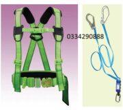 Dây an toàn bán thân sseda HALF02 2 móc sắt ( có đai bụng)
