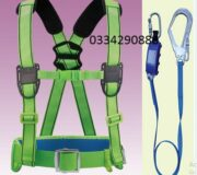 Dây an toàn bán thân sseda HALF02 1 móc nhôm ( có đai bụng)