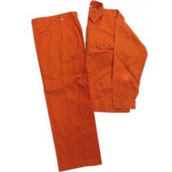áo bảo hộ màu cam