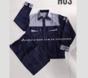 Quần áo công nhân túi hộp