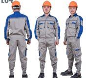 Quần áo bảo hộ lao động vải pangrim