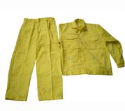 Quần áo bảo hộ vàng chanh
