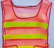 Áo phản quang lưới màu cam